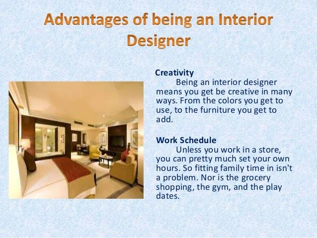 Interior design benefits and drawbacks for What is interior designing course