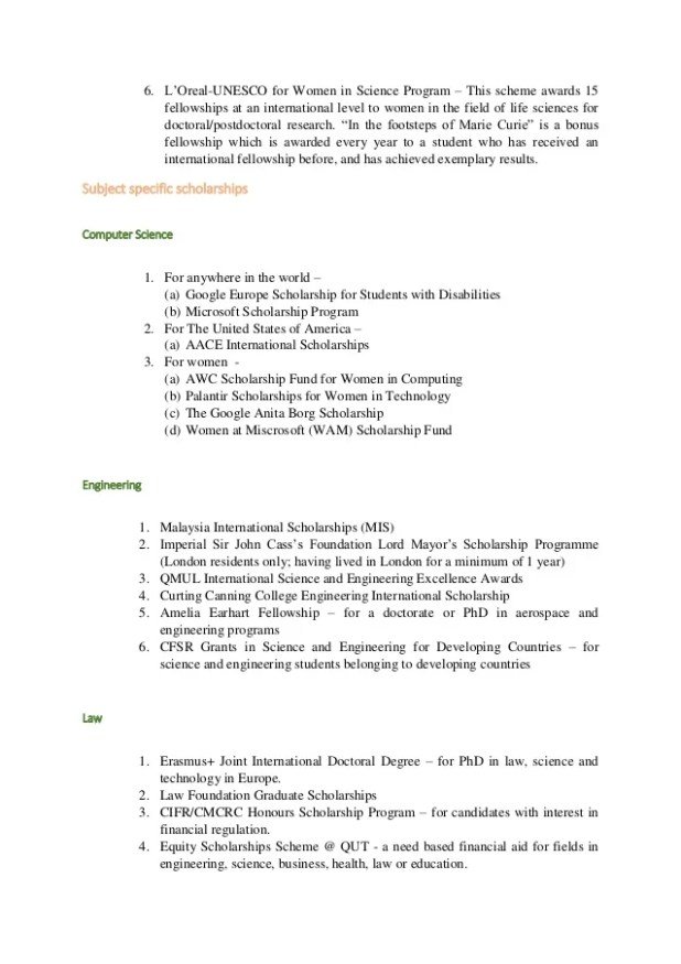 Computer Science Scholarship Essay Sample | Mistyhamel