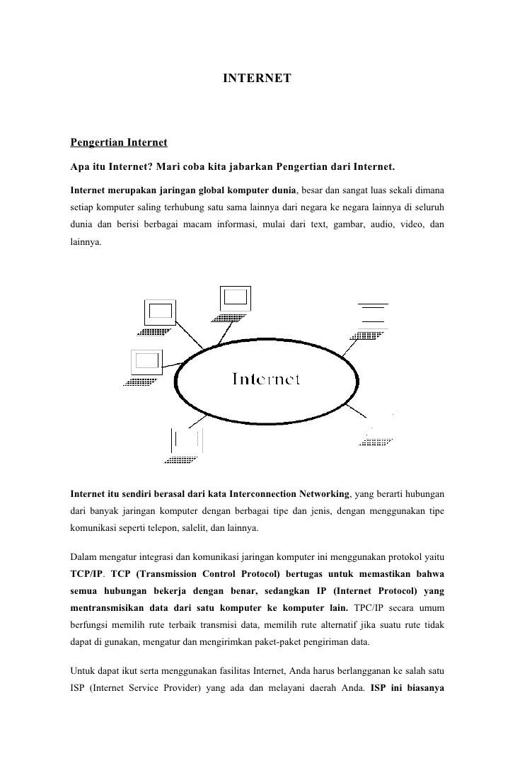 Apa Pengertian Internet Dan Intranet : pengertian, internet, intranet, DEFINISI, INTERNET