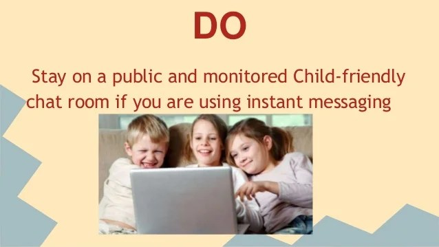Internet dos and donts Kids safety on the Internet