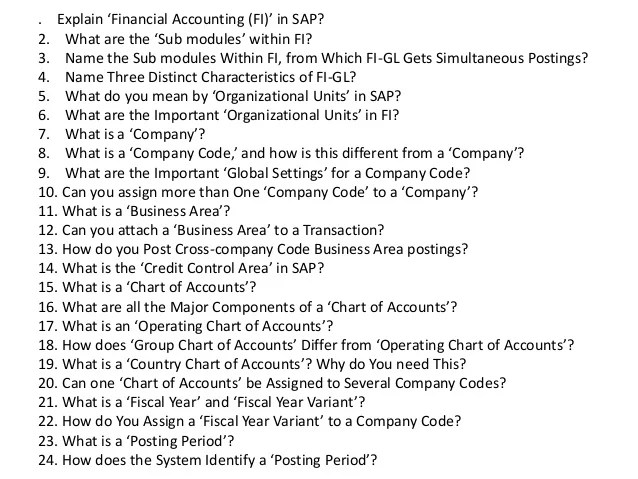 interview questions for accounting