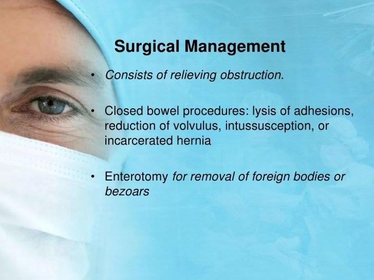 Post Surgical Ambulation