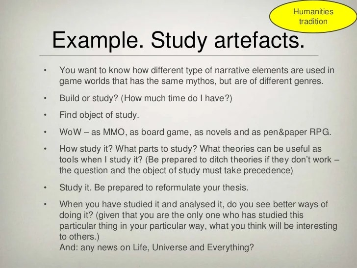 An Introduction To Game Research