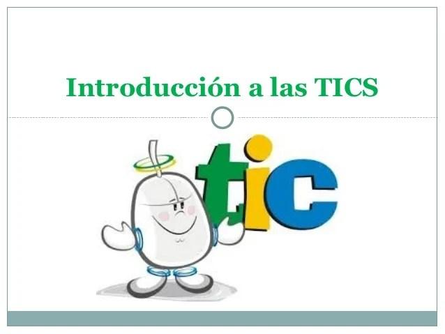 Introducción A Las Tics