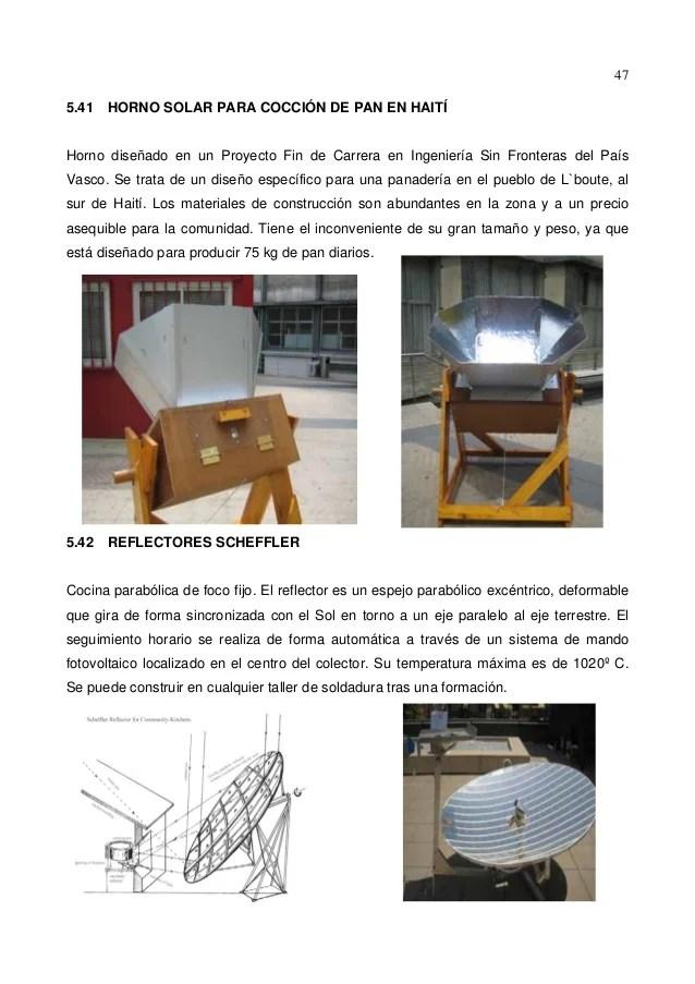 Introduccion de la cocina solar