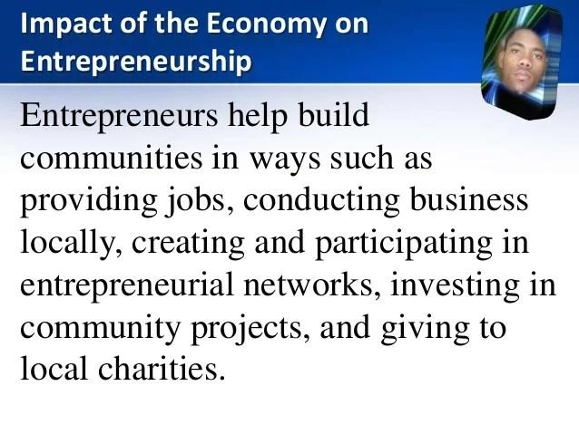 Impact of Entrepreneurship on National Development in Jamaica