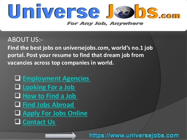 Many of these states also have a resume database where you can. Job Search Websites Best Job Search Site