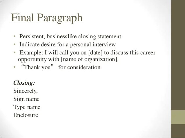 intro to resume cover letter