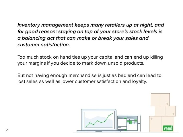 Inventory system for your retail store also the complete management guide retailers rh slideshare