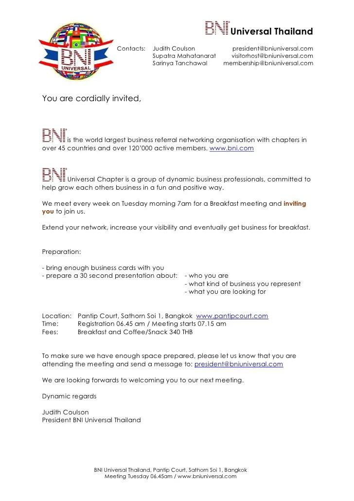 Letter Of Invitation Meeting Professional Resume Cv Maker