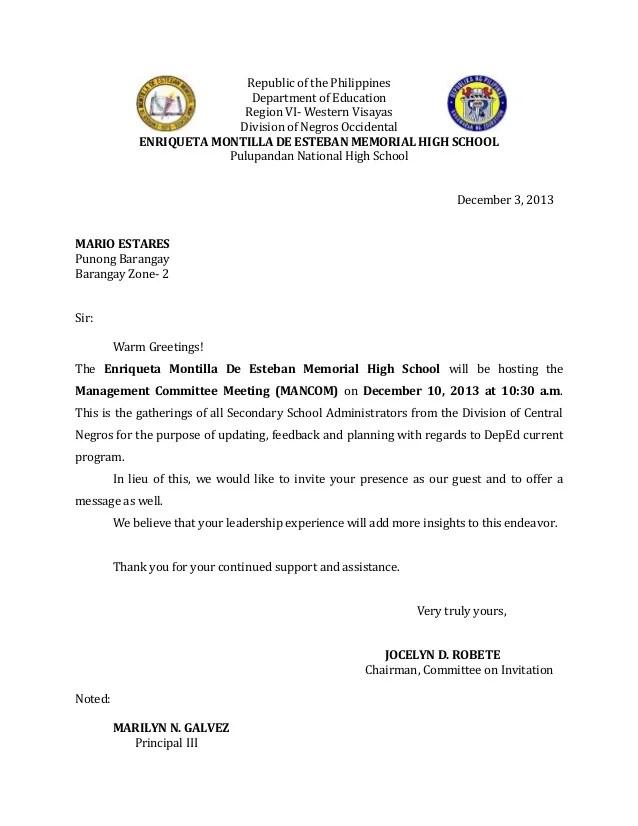 mandatory meeting invitation wording Cogimbous