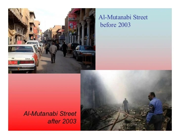 baghdad before and after