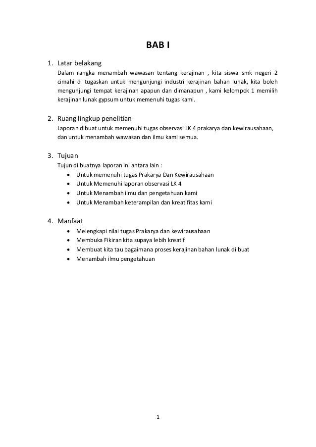 Makalah Kerajinan Bahan Keras : makalah, kerajinan, bahan, keras, Makalah, Prakarya, Kerajinan, Serat, Contoh
