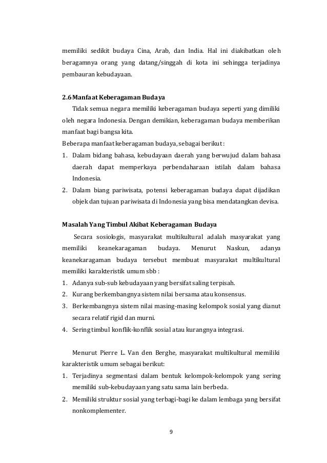 Manfaat Keragaman Budaya : manfaat, keragaman, budaya, KEBERAGAMAN, BUDAYA
