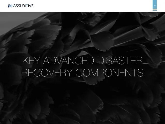 IT Disaster Avoidance vs Black Swans
