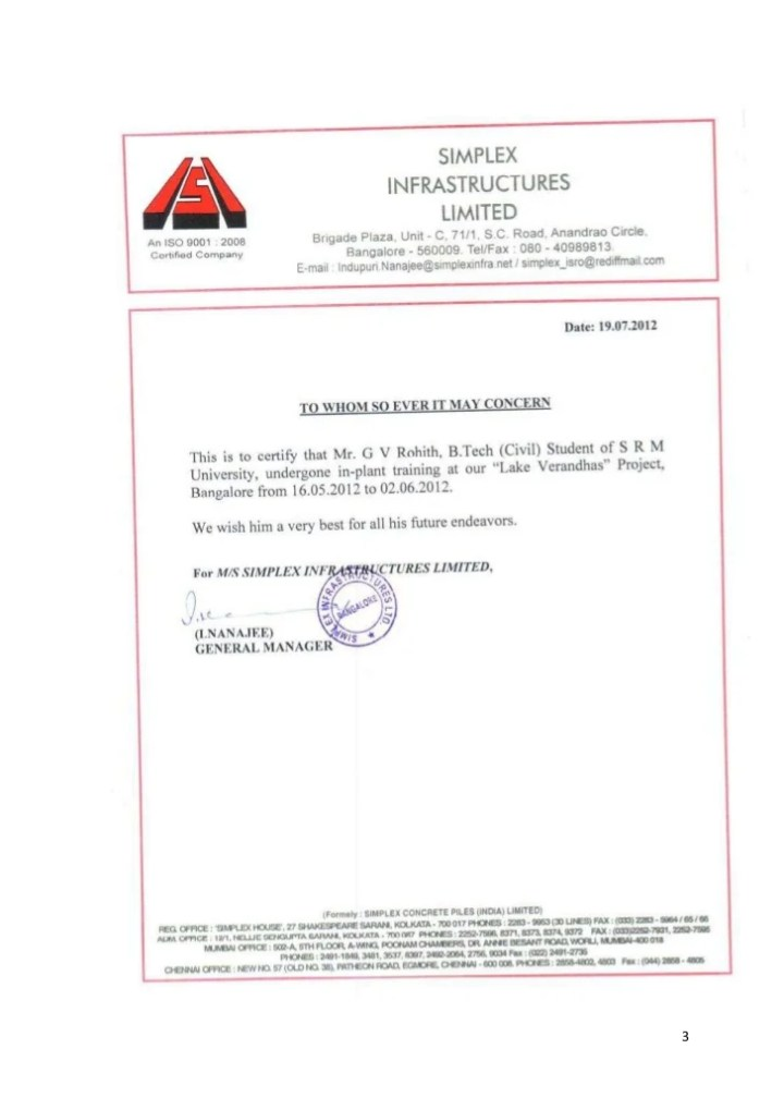 Experience letter format for civil site engineer docoments ojazlink civil site engineer experience certificate sample choice image yelopaper Gallery