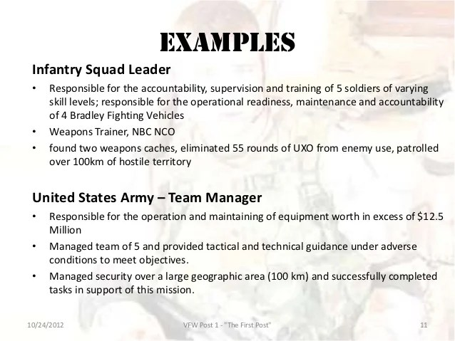 awesome infantry skills for resume pictures simple resume office