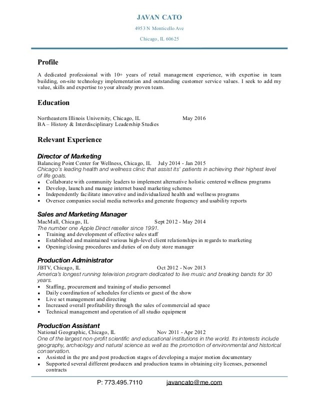 apple store resume templates