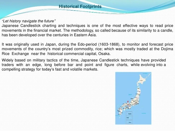 historical footprints  clet history navigate the future  djapanese candlestick charting and techniques also japanese rh slideshare