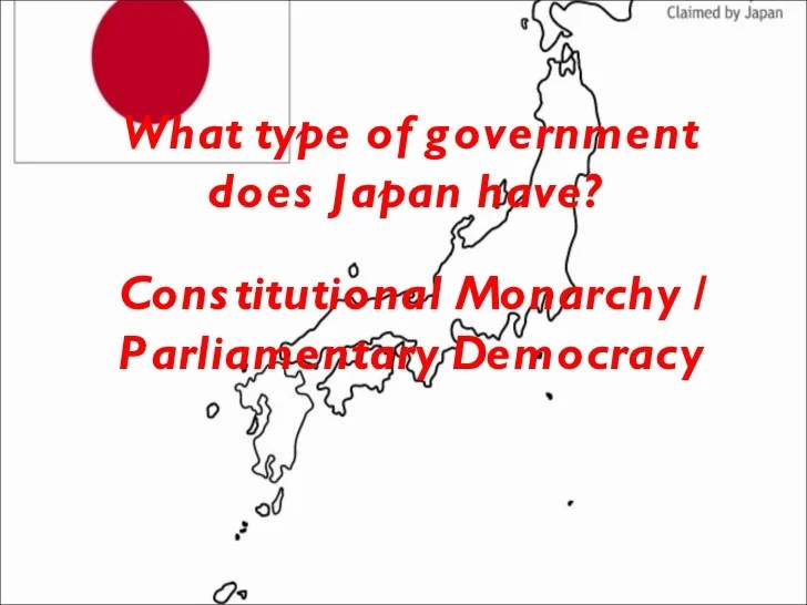 Japans government and economy