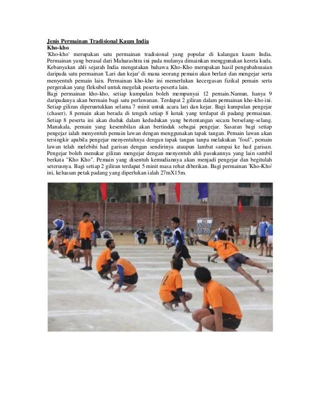 Permainan Orang India : permainan, orang, india, Permainan, Tradisional, India