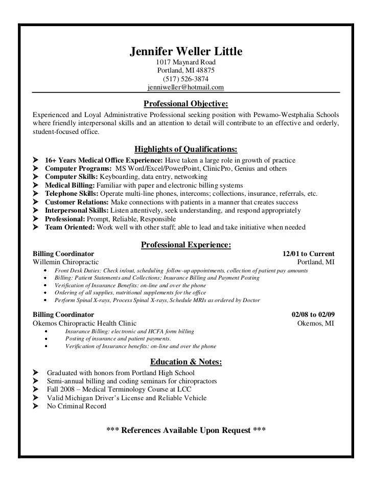 Jen's Resume