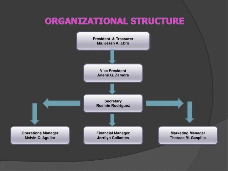 Organizational structure  cbr also feasibility study rh slideshare