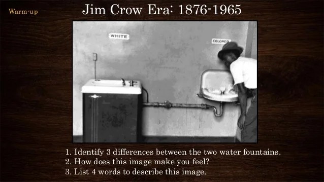 Jim crow great migration presentation ad