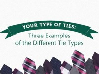 Your Type of Ties: Three Examples of the Different Tie Types