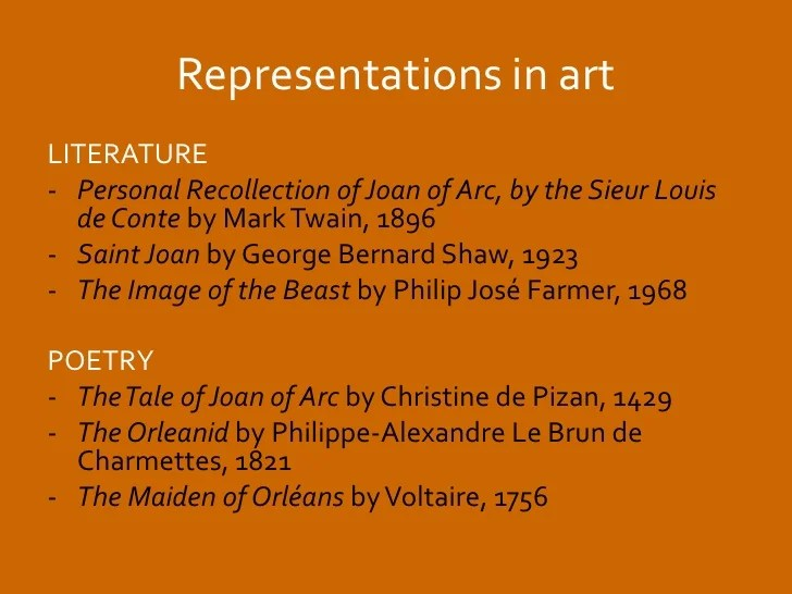 Voltaire Joan Of Arc Poem Poemsrom