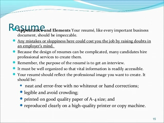 resume should contain how many pages