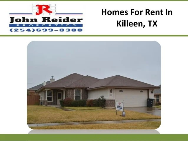 Houses For Rent In Killeen Tx