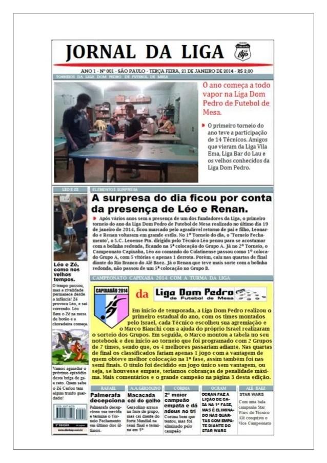 Jornal Da Liga (janeiro
