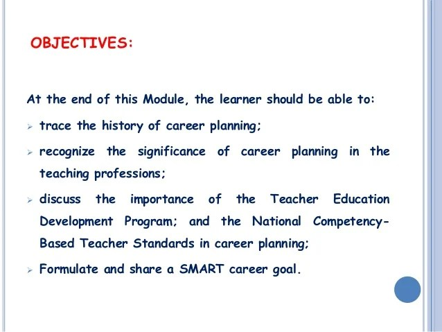 Journeying The Teaching Profession Myself And My Career By