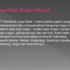 Jual Baja Ringan Murah Di Bogor Jakarta