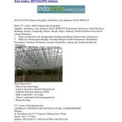 Toko Baja Ringan Di Kota Bogor Jual Jember Atap Aplikator Ring