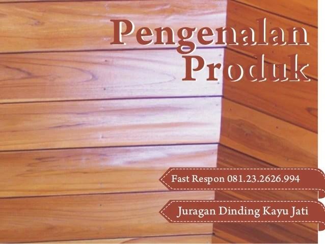 Jual Dinding Kayu Eksterior Pusat Dinding Kayu Jati