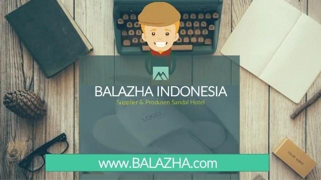 Jual Sandal Hotel Grosir Batik Bogor