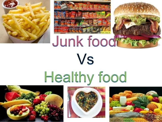 Junk food  what is it microbiologist michael jacobson phd introduced the term also   healthy rh slideshare