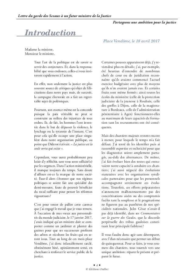 Justice Pour Tous En 3 Lettres : justice, lettres, Lettre, Garde, Sceaux, Futur, Ministre, Justice