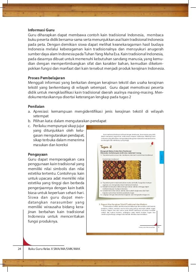 Fungsi Kerajinan Tekstil Tradisional : fungsi, kerajinan, tekstil, tradisional, Prakarya