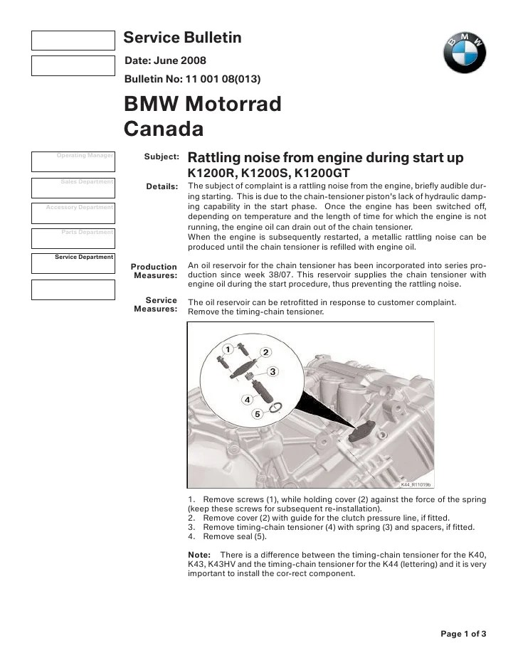 Wiring Diagram Bmw K44