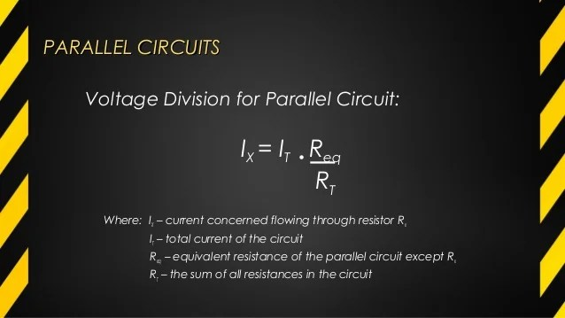 The Total Voltage In A Series Circuit Is Equal To The Sum Continued