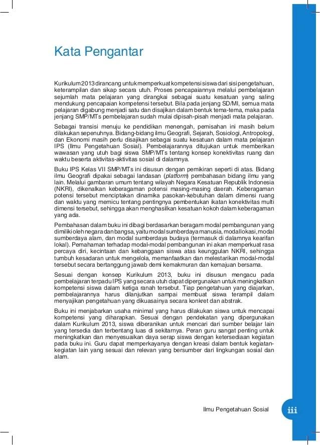 Contoh Makalah Ips Smp Kelas 7