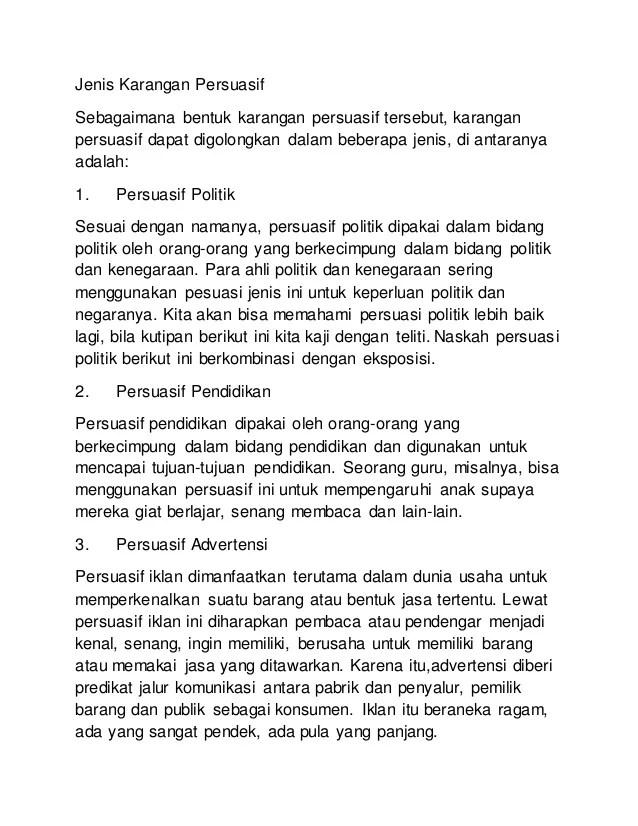 Contoh Wacana Persuasi : contoh, wacana, persuasi, Contoh, Persuasi, Bertema, Politik, Cute766