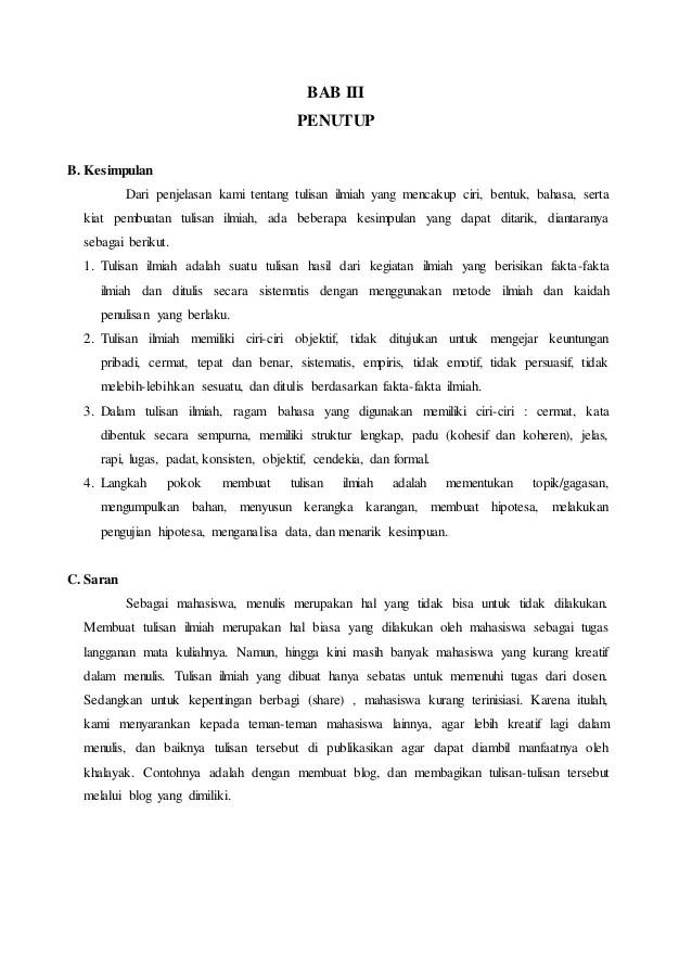 Contoh Karya Ilmiah Bentuk Formal : contoh, karya, ilmiah, bentuk, formal, Contoh, Karya, Ilmiah, Dalam, Bentuk, Formal, Barisan