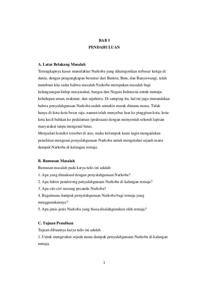 Karya Ilmiah Narkoba : karya, ilmiah, narkoba, Karya, Ilmiah, Narkoba