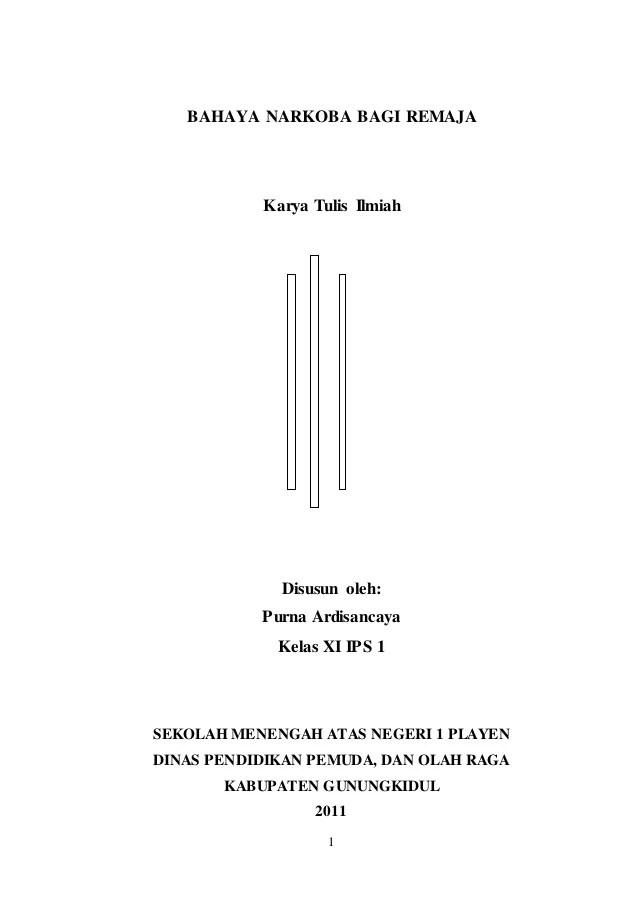 Karya Ilmiah Narkoba : karya, ilmiah, narkoba, Karya, Tulis, Ilmiah, Bahaya, Narkoba, Remaja