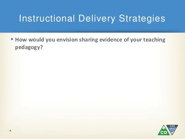 Highly Effective Instructional Strategies