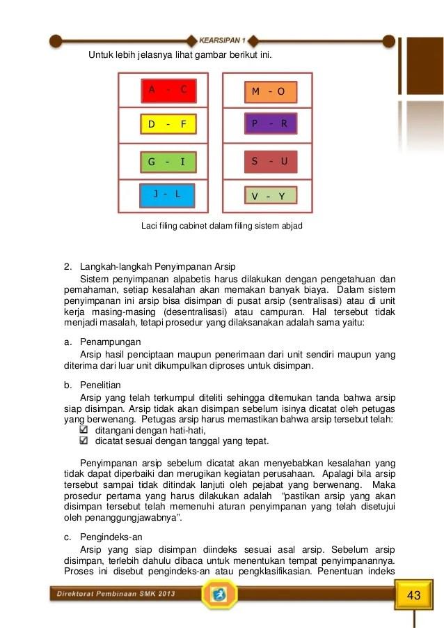 Penyimpanan Arsip Sistem Wilayah : penyimpanan, arsip, sistem, wilayah, Kearsipan